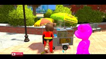COLORS SUPER SPORT MOTORCYCLE & TALKING TOM COLORS NURSERY RHYMES SONGS FOR CHILDREN