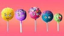 Finger Family Nursery Rhymes for Children Cake Pops Cartoon | Finger Family Children Nursery Rhymes