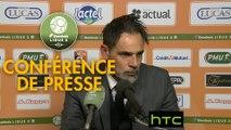 Conférence de presse Stade Lavallois - Amiens SC (2-2) : Marco SIMONE (LAVAL) - Christophe PELISSIER (ASC) - 2016/2017