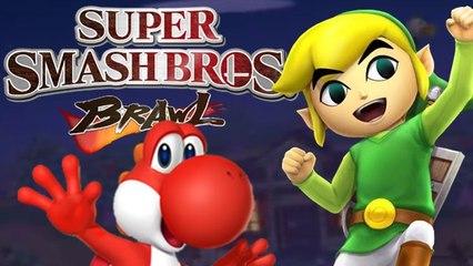 Super Smash Bros Browl (2 Test Runden)mit Toon Link!