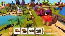 Train Town - Build and drive trains - Tough Thomas, Steaming Sam