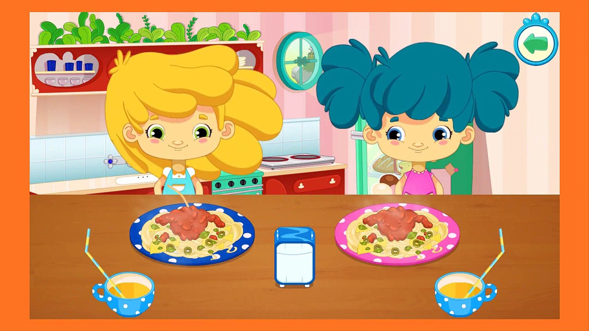 Cutie Patootie - Welcome Town - Patooties Education game - App for kids