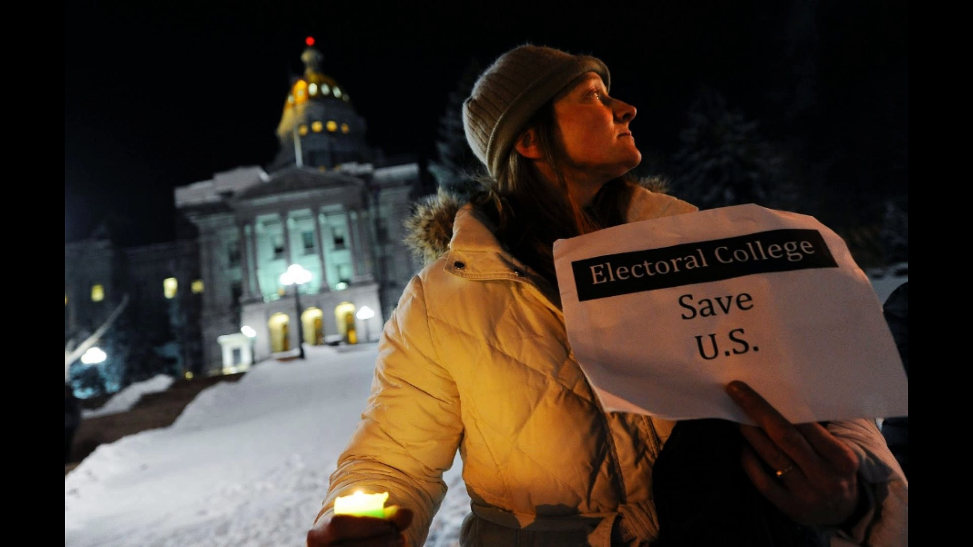 BREAKING NEWS - The electoral college is poised to pick Trump