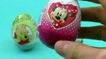 Surprise Eggs Opening - Winnie the Pooh, Minnie Mouse, Disney Frozen - Surprise Eggs Toys