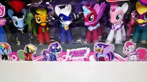 Superhero POWER PONIES My Little Pony Friendship is Magic Pinkie Pie Rainbow Dash Twilight Sparkles