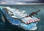 L USS FORRESTAL : Le Plus Grand Porte Avions Américain ( Documentaire )