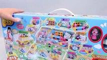 Mundial de Juguetes & Pororo Kindergarten Playset Toys & Pororo Figure Stamp Toy