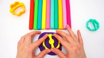 Play-Doh Modelling Clay with Molds Fun Rainbow Flowers and Creative for Kids Clay Playing