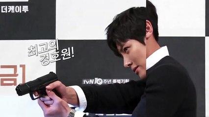 [Z영상화보] 'THE K2' 지창욱, 여심 저격 '빵야 빵야'