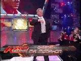 Mr. McMahon and Donald Trump's Battle p1