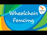 Rio 2016 Paralympic Games | Wheelchair Fencing Day 9 | LIVE