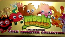 Moshi Monsters Limited Edition Gold Monster Collection Kinder Surprise Monsters University by Disney