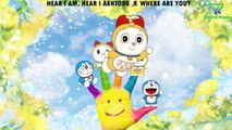 Doraemon Finger Family Nursery Rhymes For Cartoon children Rhymes