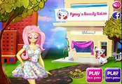 My Little Pony - Rarity Fluttershy and Applejack At Fynsys Beauty Salon Game Episode HD