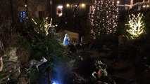 Les lumières de Noël déplacent les foules