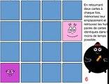 Barbapapa francais - le jeu du memory - jeux educatif en francais