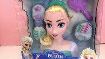 Princesse Disney la Reine des Neiges Elsa – Tête à coiffer et à maquiller de la reine des neiges
