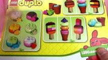 LEGO DUPLO Bunter Eisspaß 10574 / Eis bauen aus Duplo / Eis selber machen Unboxing deutsch