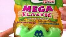 MEGA ELASTIC Slimy Schleim | Glibber zum Mitnehmen für unterwegs | Super cool und ultra schleimig