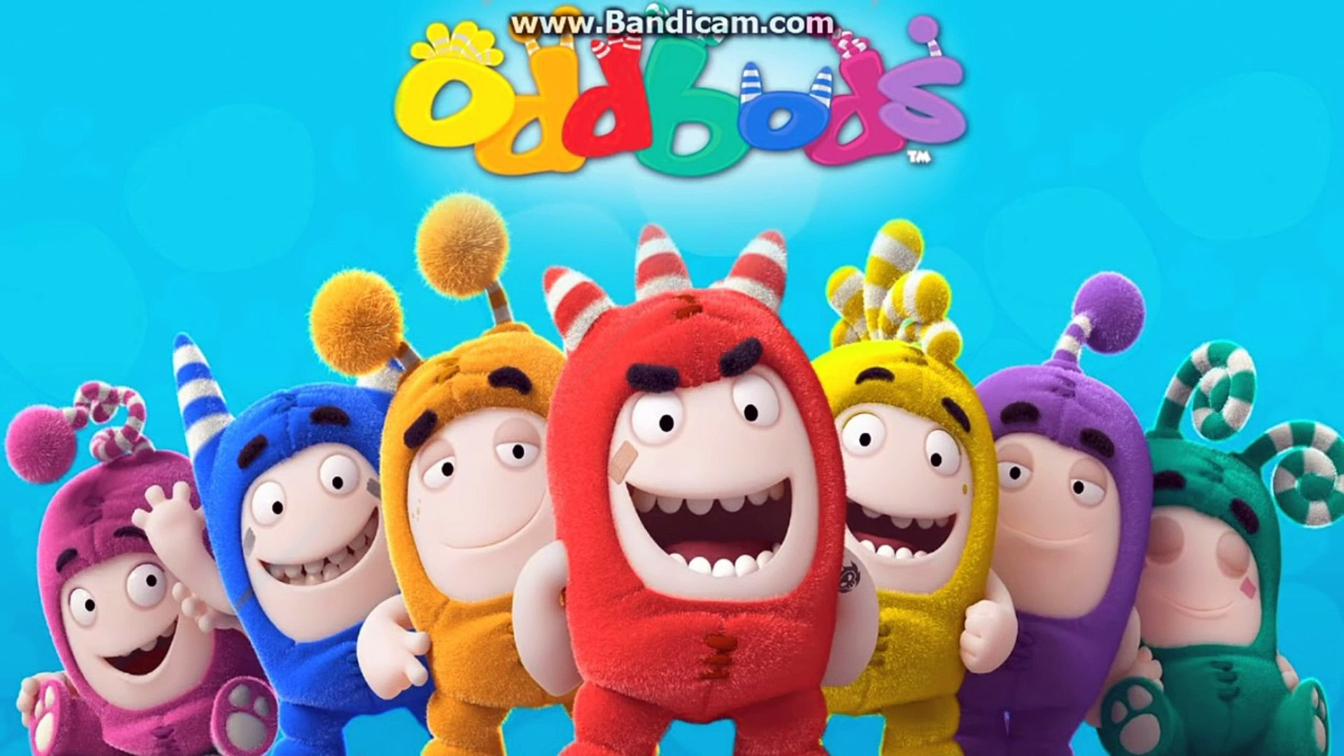 Oddbods Coloring Pages Speed Coloring Activity For Children Newt Slick Bubbles Zee Pogo Jeff Dailymotion Video