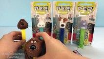 The Secret Life of Pets Pez Candy Dispensers