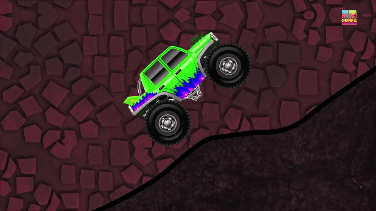 Monster Trucks | Cars And Trucks For Toddlers