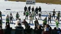 La Clusaz : le Haka Bélier de la Coupe du monde de ski de fond