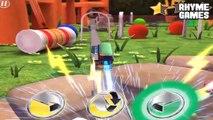 Disney Pixar Cars Daredevil Garage | Fillmore LEVEL 3 Racing Backyard Stunt Daddy Finger Family