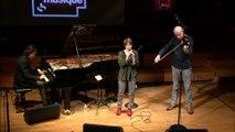 Claudia Solal, voix - Benoît Delbecq, piano préparé et Guillaume Roy, alto