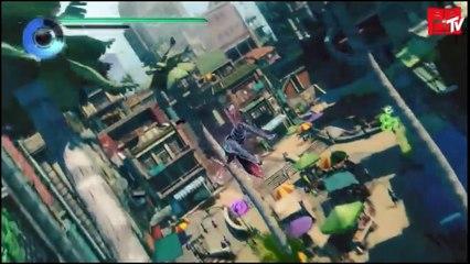 Présentation des fonctionnalités online de Gravity Rush 2
