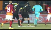All Goals & Highlights HD - Osmanlispor 2-2 Galatasaray - 18.12.2016