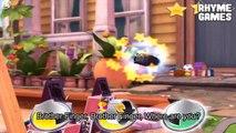 Disney Pixar Cars Daredevil Garage | Fillmore LEVEL 2 Racing Backyard Stunts Daddy Finger Family