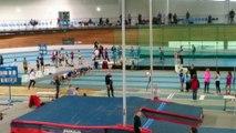 Départementaux Minimes en salle Finale 50m haies (records du GABS) 18 déc. 2016