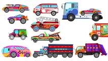 Monster Truck Stunt | Superman Monster Truck VS Monster Truck | Monster Truck Videos For Kids