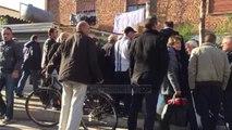 Makina përplaset me autobusin, përfundon në trotuar - Top Channel Albania - News - Lajme