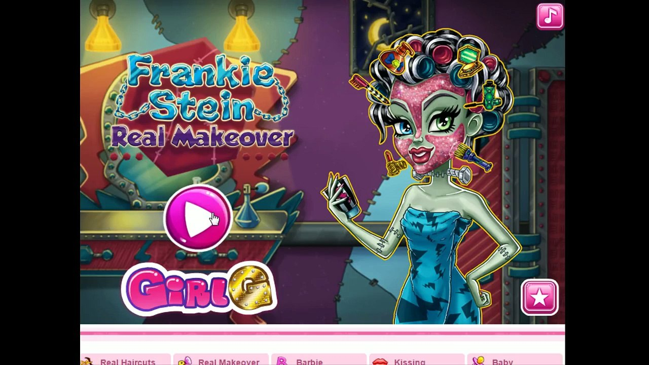 Frankie Stein Real Makeover