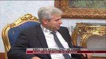 Ali Ahmeti takime me Ramën, Metën e Nishanin - News, Lajme - Vizion Plus