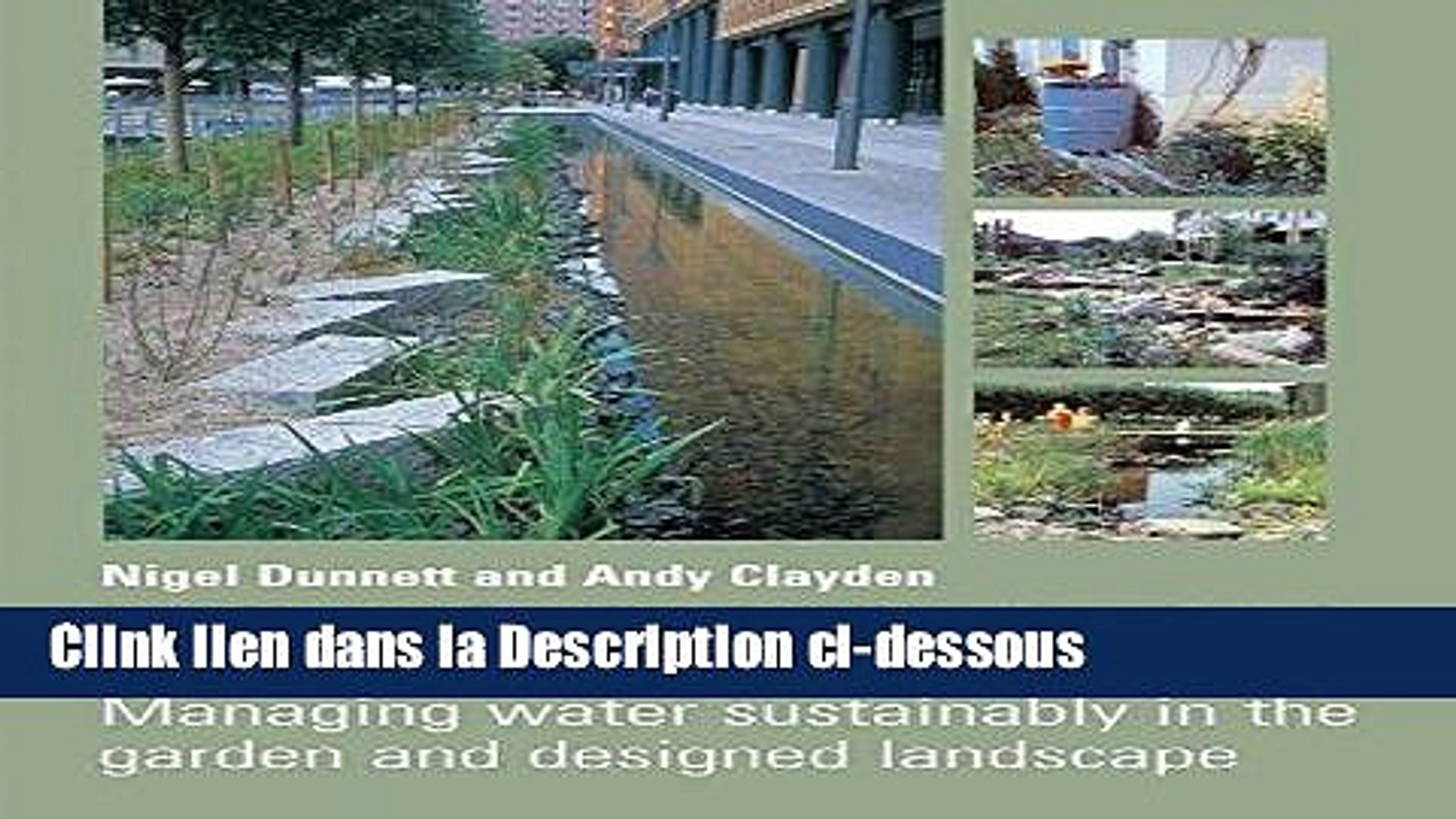 Télécharger Epub Rain Gardens: Managing Water Sustainably in the Garden and Designed Landscape