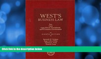 Buy Roger Leroy Miller West s Business Law: Text and Cases--Legal, Ethical, Regulatory,