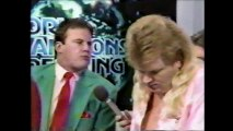 Stan Lane Debut in Midnight Express vs Larry Stevens/Tommy Angel (WCW Saturday Night)