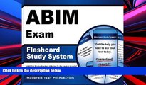Pre Order ABIM Exam Flashcard Study System: ABIM Test Practice Questions   Review for the