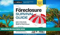 Buy Stephen Elias Attorney The Foreclosure Survival Guide: Keep Your House or Walk Away With Money