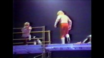"""Midnight Express vs Rock and Roll Express """"Scaffold Match"""" (Mid South 1984)"""