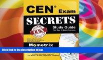 Buy CEN Exam Secrets Test Prep Team CEN Exam Secrets Study Guide: CEN Test Review for the