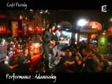 Adanowsky l'idole acoustique au café Picouly 27 04 2007