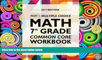 Buy Argo Brothers Argo Brothers Math Workbook, Grade 7: Common Core Math Multiple Choice, Daily