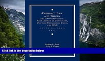 Read Online Robert E. Scott Contract Law and Theory: Selected Provisions: Restatement of Contracts