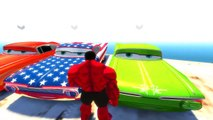 Hulk Rage and Disney Pixar Cars Ramone USA Style Nursery Rhymes Childrens Songs