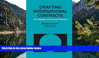 Read Online Marcel Fontaine Drafting International Contracts: An Analysis of Contract Clauses Full