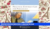PDF [FREE] DOWNLOAD  Practical Contract Law for Paralegals: An Activities-Based Approach, Third
